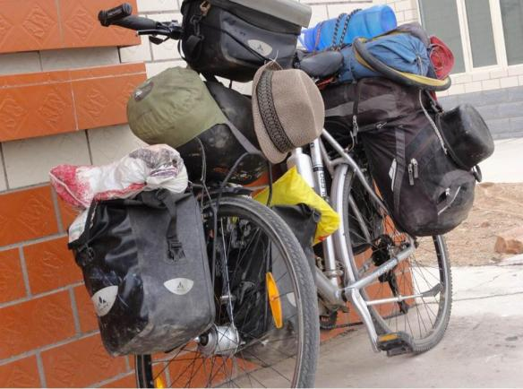 laden bike