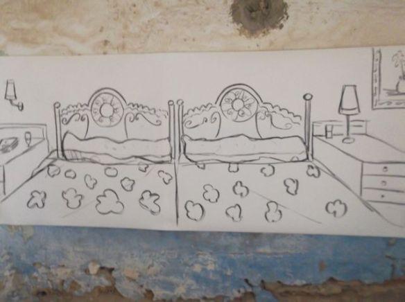 dream hotel bedroom